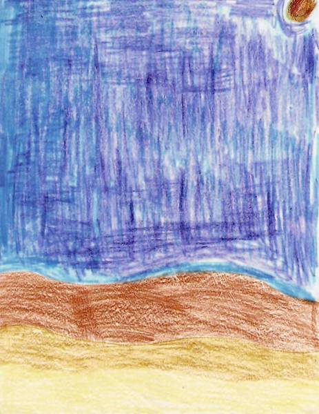 """Little House On the Prairie"" was illustrated by Cole, 10 of Third Street Elementary in Los Angeles."