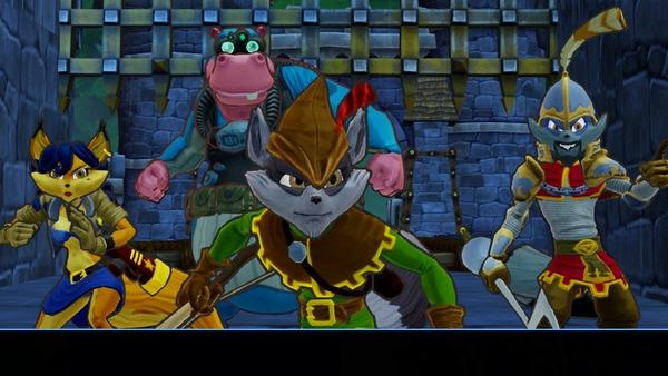 """Sly Cooper is up to his old tricks in """"Sly Cooper: Thieves in Time"""" for Playstation 3 and Vita."""
