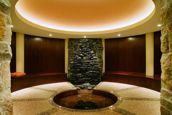 The Meditation Room in the Aspira Spa, in the Osthoff Resort in Elkhart Lake, Wis.