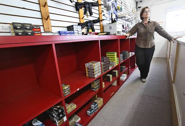 Eileen Rieg of Rieg's Gun Shop & Range talked about the ammunition shortage that is happening across the country. She said that it is unlike anything she has ever seen.