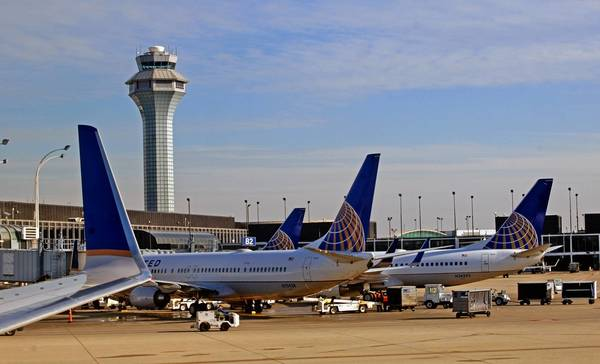 Aircraft at Chicago's O'Hare Airport. More than 100 small air traffic control towers will be closed, an additional 60 towers may eliminate overnight shifts and staffing at airports across the country will be cut back if the budget standoff isn't resolved.
