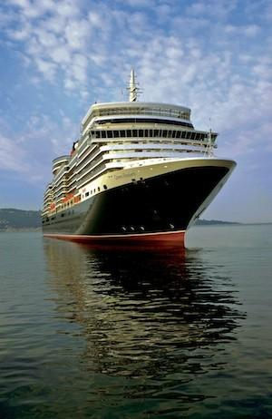 Cunard Line's Queen Elizabeth ocean liner, which was launched in 2010.