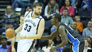<b>Pictures:</b> Orlando Magic at Memphis Grizzlies