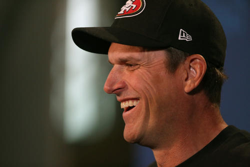 "San Francisco 49ers coach Jim Harbaugh said it took him a couple of days after losing the Super Bowl to call his brother Ravens coach John Harbaugh. ""We just got a strong relationship, and it just always seems to get stronger,"" Jim Harbaugh said Friday at the combine. ""Very close. We talked a little bit about the game, and some other things. We discussed some facets of the game, and some other football talk."""