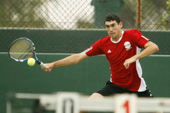 ARCHIVE PHOTO: Burroughs senior Garrett Auproux is a two-time All-Area Singles Player of the Year.