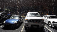 Freezing rain, icy roads expected early Saturday