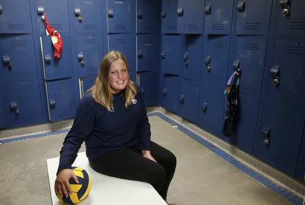 Newport Harbor girls' water polo player Christina O'Beck is the Athlete of the Week. (Scott Smeltzer)