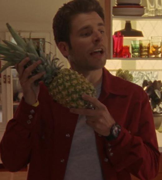 'Psych': The pineapple in (almost) every episode: Shawn offers to take some pineapple on their trip to the lakehouse.