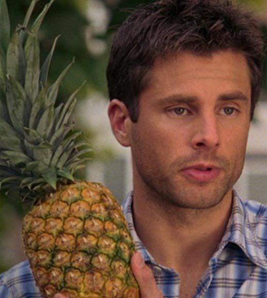 'Psych': The pineapple in (almost) every episode: Shawn asks Alice if she wants to split a pineapple.  Bonus points: The Gus alias is DAndre Pride.