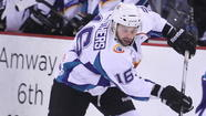 Ryan Cruthers secured his fourth career 20-goal season in the ECHL and a vital win for the Orlando Solar Bears in the process, scoring shorthanded with 2:32 left to finish off the Gwinnett Gladiators 4-2 in front of an announced crowd of 7,448 on Friday night.