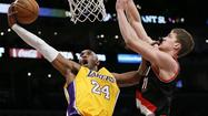 Lakers vs. Portland Trail Blazers
