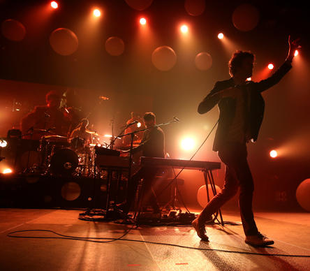 Passion Pit performs at UIC Pavilion in Chicago on Friday, February 22, 2013.