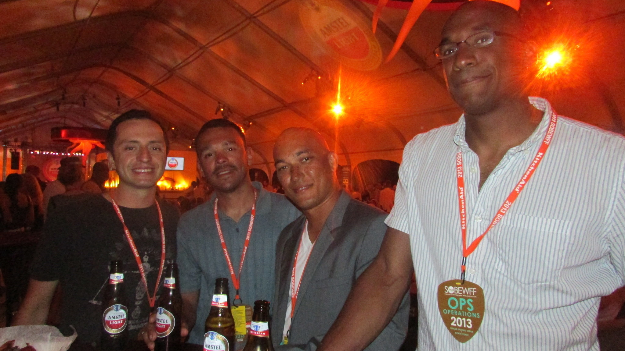 Spot your friends at SoBe Wine and Food Festival - Amstel Light Burger Bash