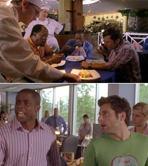 'Psych': The pineapple in (almost) every episode: There may be pineapple slices on the dessert brought out to the guys. At the newspaper office, Shawn tells Gus to blurt out nonsense and he shouts, Keylaces, shoeboards, pineapples!  Extra bonus points: Gus, dont be such a gloomy you.