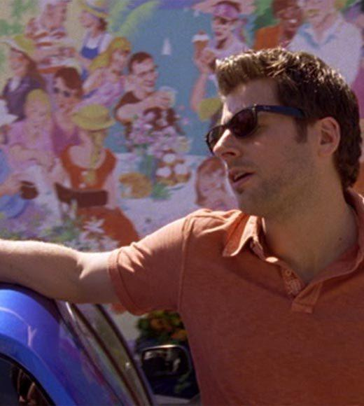 'Psych': The pineapple in (almost) every episode: This one might not have a pineapple either, but there is a theory that on the mural behind Shawn right here, there are pineapples on that guys table.