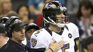 Ravens, Joe Flacco's agent hold meeting at scouting combine