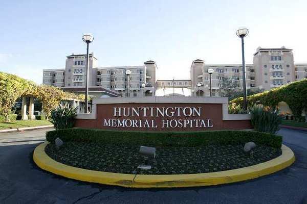 The Huntington Memorial Hospital in Pasadena.