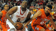 Terps win the battle inside and hold off Clemson, 72-59