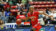 Nyala Shuler's 17 points and 11 rebounds helped Edgewater beat Fort Walton Beach Choctawhatchee 50-49 and repeat as the Class 6A girls basketball state champion. (Ricardo Ramirez Buxeda, Orlando Sentinel)