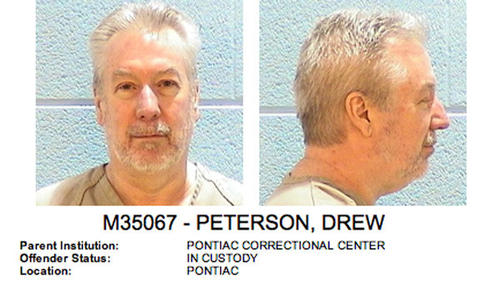 Drew Peterson's photographs have been posted on the Illinois Department of Corrections website as part of the offender database. Peterson has begun serving his 38-year sentence for the murder of Kathleen Savio at Pontiac Correctional Center.