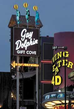 The Gay Dolphin is billed as the largest gift and souvenir shop on the East Coast.