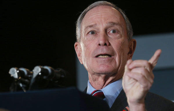 Michael Bloomberg's money is paying for some serious exaggeration and distortion in the L.A. Unified school board race.