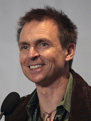 "Phil Keoghan told stories about his life as host of ""The Amazing Race"" during the Los Angeles Times Travel Show on Saturday afternoon."