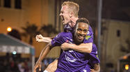 Jamie Watson's goal off a penalty kick in the first minute got the Orlando City Soccer Club off to a good start Saturday night, and the Lions went on to defeat the Tampa Bay Rowdies 2-0 to finish in seventh place at the Disney Pro Soccer Classic.