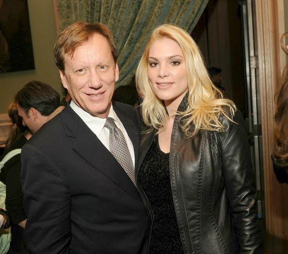 "<a class=""taxInlineTagLink"" id=""PECLB004010"" title=""James Woods"" href=""/topic/entertainment/james-woods-PECLB004010.topic"">James Woods</a> poses with his girlfriend Ashley Madison on the red carpet."