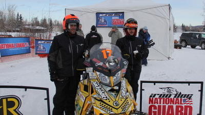 McKenna, VanMeter Win 2013 Iron Dog Snowmachine Race