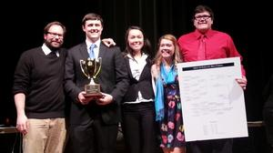 New Kent High School Scholastic Team wins State