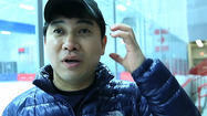 Video: Speedskating coach Chun talks about his style