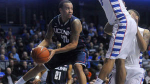 On The Road Against DePaul, UConn Men Win, 81-69