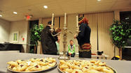 The Keneseth Israel Congregation celebrate Purim