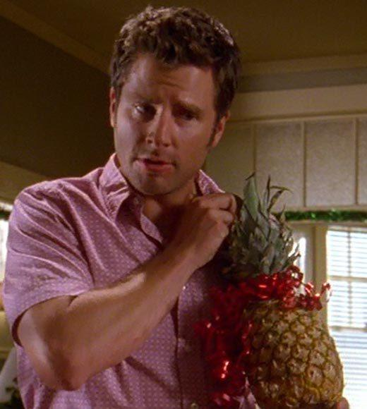 'Psych': The pineapple in (almost) every episode: As always, a pineapple makes the perfect gift.  Bonus points: The Gus alias is Scrooge Jones.