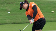 Thai teenager <strong>Ariya Jutanugarn</strong> shot a two-under 70 to lead by three strokes after the third round of the LPGA Thailand at Chonburi despite finishing with two bogeys.