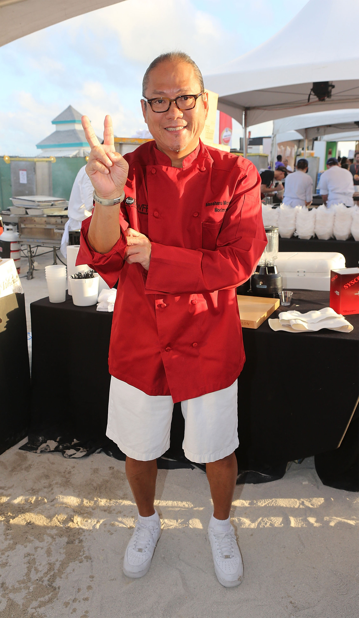 Celeb-spotting at SoBe Wine and Food Festival - SBWFF 2013 - Amstel Light Burger Bash Hosted By Rachael Ray