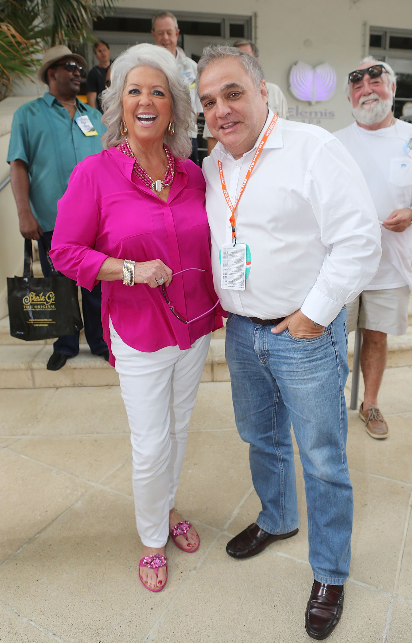Celeb-spotting at SoBe Wine and Food Festival - The Today Show At The South Beach Wine And Food Festival