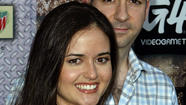 Danica McKellar and Mike Verta