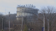 Residents watch as BGE implodes gas tank, a neighborhood landmark