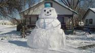Photos: Snowman Contest