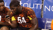 Ravens met with Florida State offensive tackle Menelik Watson