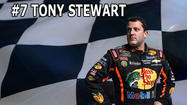 The Backstretch Blog: Countdown to the Season- Number 7 Tony Stewart