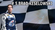 The Backstretch Blog: Countdown to the Season- Number 5 Brad Keselowski