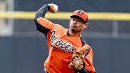 Right-hander Jair Jurrjens, making his first spring appearance in an Orioles uniform, allowed one run and four hits over two innings against the Blue Jays on Sunday at Florida Auto Exchange Stadium.