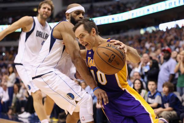 Steve Nash and the Lakers will be featured in 29 nationally broadcast games this season.