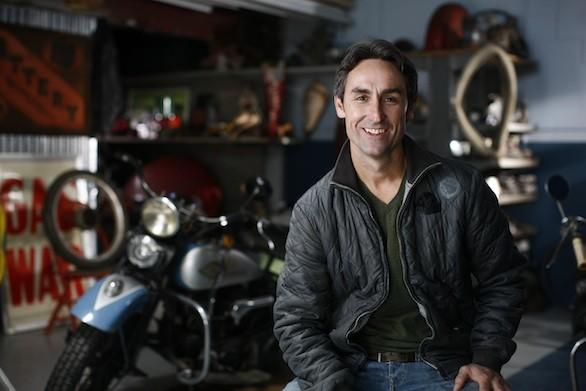 "Mike Wolfe of ""American Pickers."""