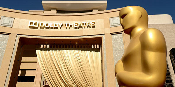 A general view of the Oscars at the Dolby Theatre in Hollywood.