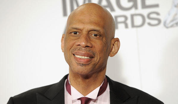 Kareem Abdul-Jabbar arrives for the 44th NAACP Image Awards earlier this month at the Shrine Auditorium in Los Angeles.