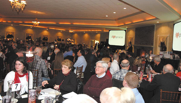 Grace Academy held its annual auction and dinner recently. The Hagerstown school raised $31,100 during the event.